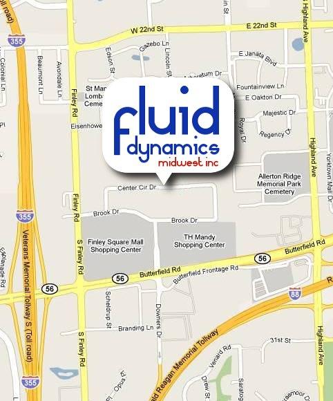 Fluid Dynamics Midwest Inc. Map